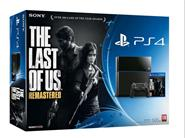 SONY PS4 500GB + THE LAST OF US