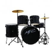 MEGA DRUMS color negro perlado