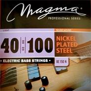 MAGMA BE150N Set Bajo-Elec Nickel P/Steel .040 L