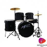 MEGA DRUMS Bateria Color Negro Perlado