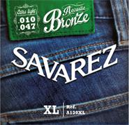 SAVAREZ A130XL ACOUSTIC BRONZE extra light 010-047
