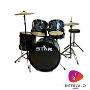 STAR Batería Star Serie 2 Color Fresno Negro