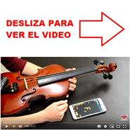 TUTORIAL VIDEO AFINACION VIOLIN