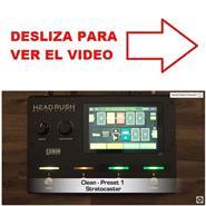 TUTORIAL VIDEO HEADRUSH GIGBOARD PRESETS
