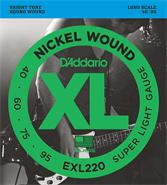 DADDARIO STRINGS EXL220