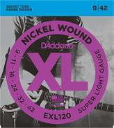 DADDARIO STRINGS EXL120