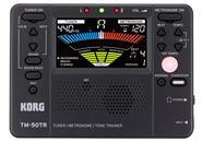 KORG TM-50TR-BK Afinador Metronomo Entrenador de Tono y