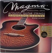 MAGMA SET STRING  GUIT-ACUST COATED PHOS BRON 011