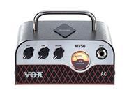 VOX MV50-AC Cabezal Hibrido Tecnologia Nutube 50w Tone