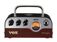 VOX MV50-BQ Boutique Cabezal Hibrido Tecnologia Nutube