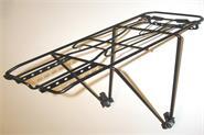 Porta equipaje de acero con trampa - ajustable r24-28