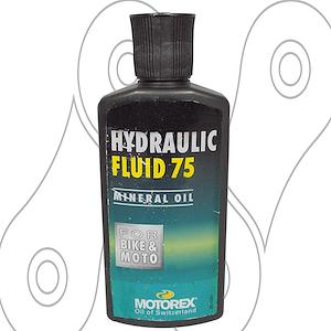 Liquido de frenos Hidraulico 75 Motorex 100ml