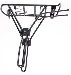 Porta equipaje aluminio trasero de Aluminio para rod 26-29
