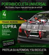 Portabicicleta Universal Rebon Supra (En Bolsa C/Hebilla Zam