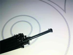 Rayo Shimano Delantero para ruedas WH-9000C24-CL , WH-RS81-C