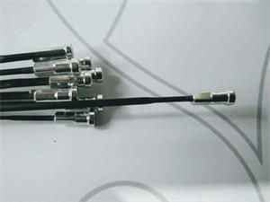 Rayo Shimano Trasero para ruedas WH-R501-30s/l 282mm (Negro,