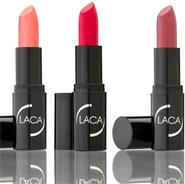 LACA Lápiz labial Color Perlados.