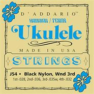 DADDARIO Strings J54 - Black Nylon 28/32