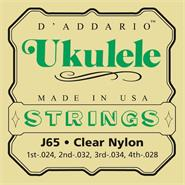 DADDARIO Strings J65 - Clear Nylon 24/28