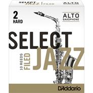 DADDARIO WOODWINDS SELECT JAZZ - Saxo Alto Filed #2H