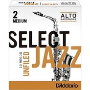 DADDARIO WOODWINDS SELECT JAZZ - Saxo Alto Unfiled #2M