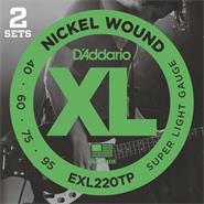 DADDARIO EXL220-TP XL Nickel Wound 040/095