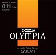 OLYMPIA AGS801 ENC-P/GUIT.ACUSTICA 011-050 PHOSP BRONZE