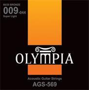 OLYMPIA AGS569 ENC-P/GUIT.ACUSTICA 009-044 BRONZE