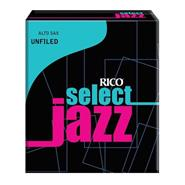 RICO SELECT JAZZ - Saxo Alto Unfiled #3M