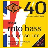 ROTOSOUND ENGLAND RB40 - 040/100 - Nickel wound
